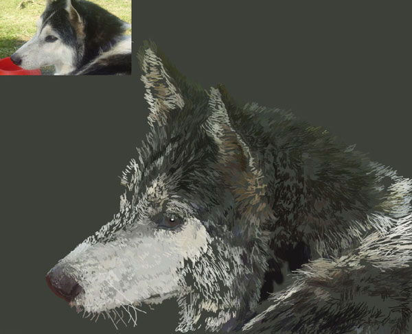 Как нарисовать портрет в Photoshop