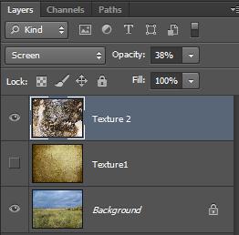 Как смешивать текстуру с фотографией в Photoshop