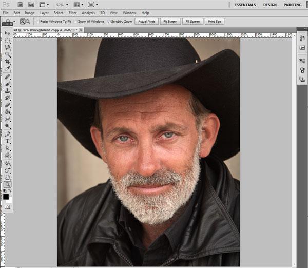 Как сделать ретушь лица в Photoshop