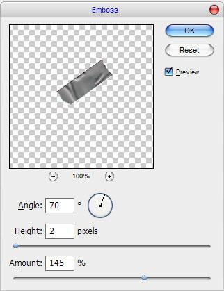 Как создать липкую ленту в Photoshop