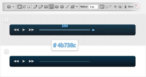 Как создать мини-плеер для музыки в Adobe Photoshop