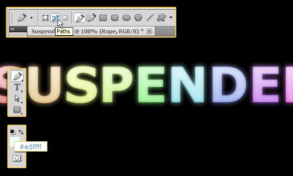 Как создать эффект подвешенного текста
