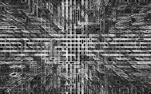 Создание футуристических абстрактных обоев для рабочего стола