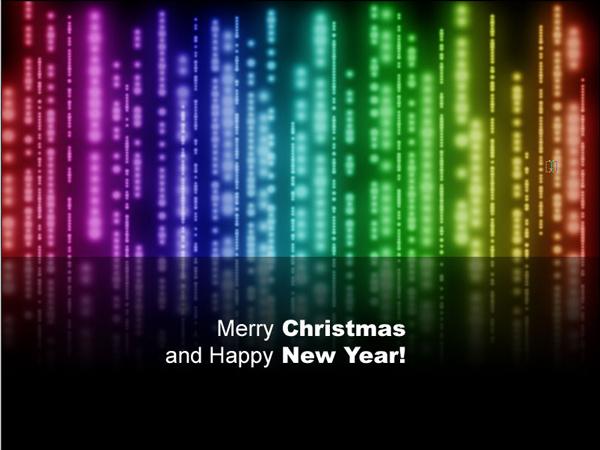 Создание поздравительной открытки к Рождеству и Новому Году