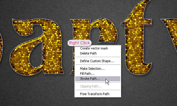 Учимся создавать текстовый эффект в стиле вечеринки