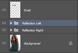 Как добавить отражение в солнечных очках в Photoshop