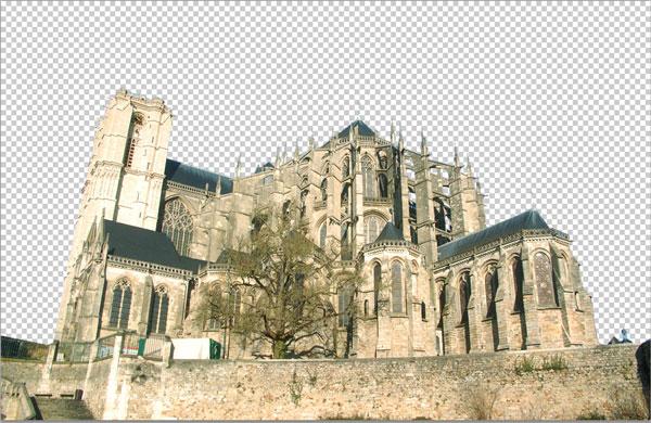 Как создать готический коллаж в Photoshop