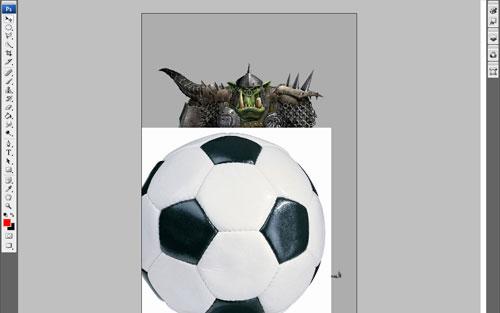 Создание футбольного фаната из Орка