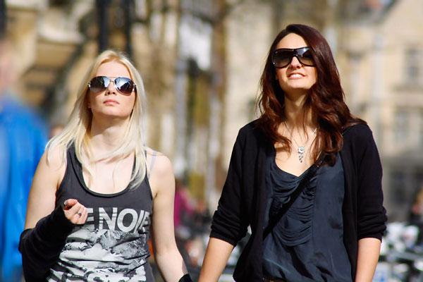 Создание модного эффекта контрастной фотографии
