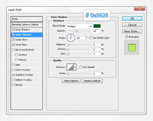 Как создать бледно-золотые кнопки-переключатели
