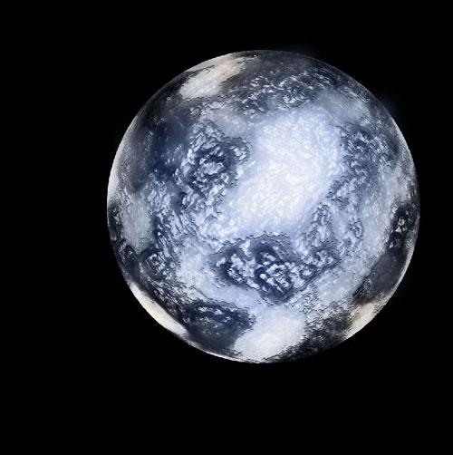 Как создать планету изо льда