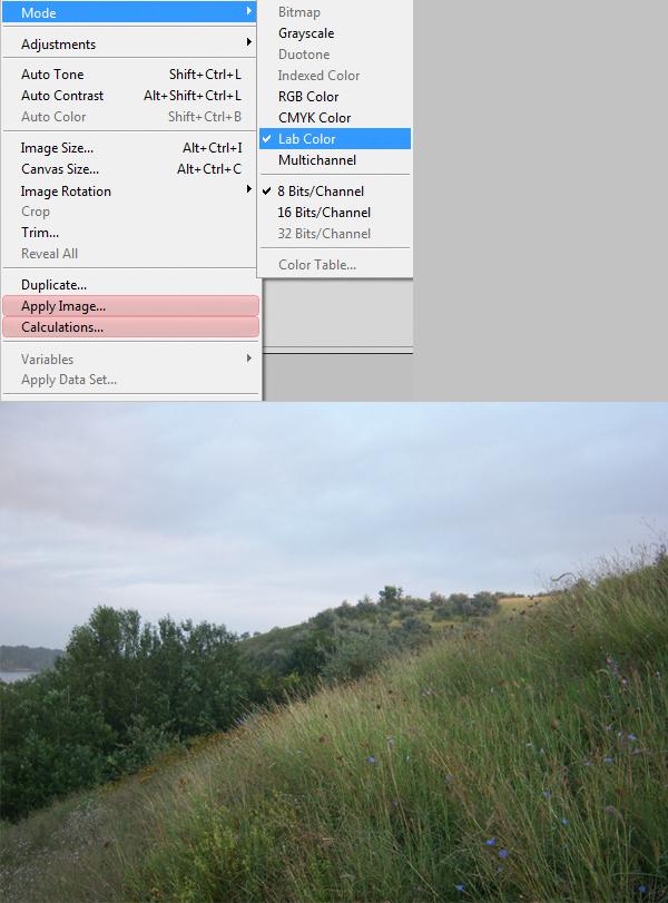 Учимся усовершенствовать фотографии с помощью цветового режима LAB