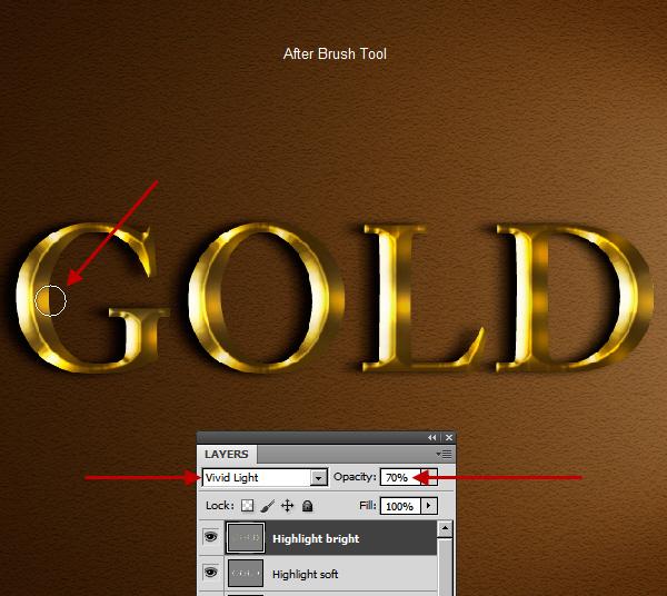 Создание простого и реалистичного золотого текстового эффекта в Photoshop
