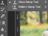 Удаление человека и восстановление сложного фона с помощью инструмента Clone Tool
