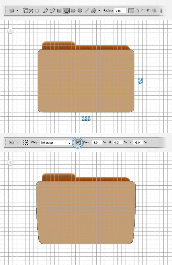 Создаем простую иконку папки в Adobe Photoshop