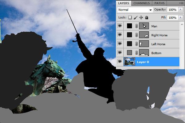 Создание фокуса на фотографии с помощью Blur Map
