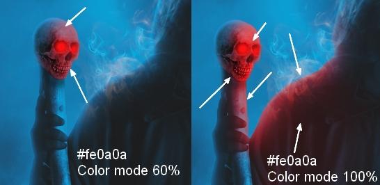 Создание сцены с темным зловещим жнецом к Хэллоуину в Photoshop