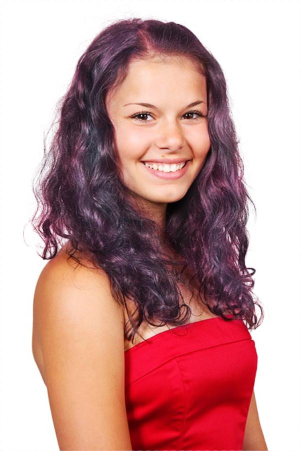 Как изменить цвет волос в Photoshop