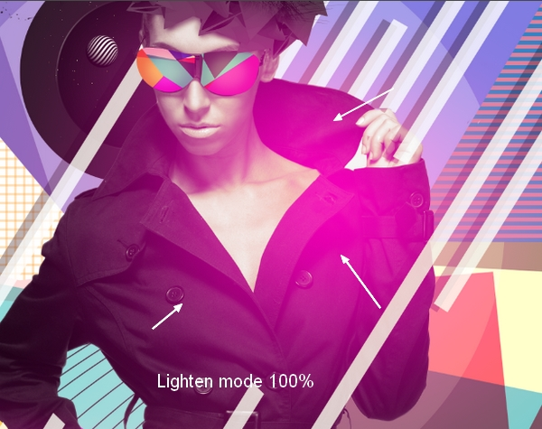 Создание модного рекламного портрета в Photoshop