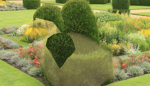 Как изменить форму декоративного куста