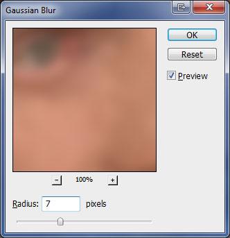 Эффект омоложения лица в Photoshop