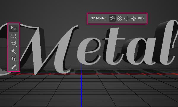 Создание гладкого металлического 3D эффекта для текста в Photoshop CS6