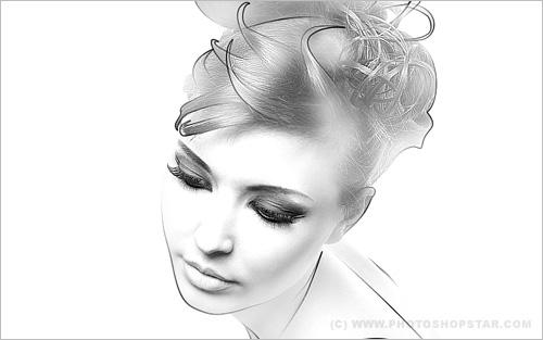 Создание эффекта рисунка на фотографии