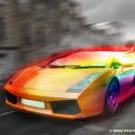 Учимся создавать эффект быстрого движения в Photoshop (Часть 1)