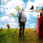 Создание картины Адама и Евы (Часть 1)