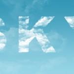 Облачный текстовый эффект