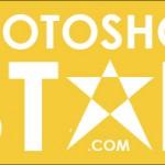 Создаем логотип в виде звезды с помощью инструментов Photoshop Path Tools