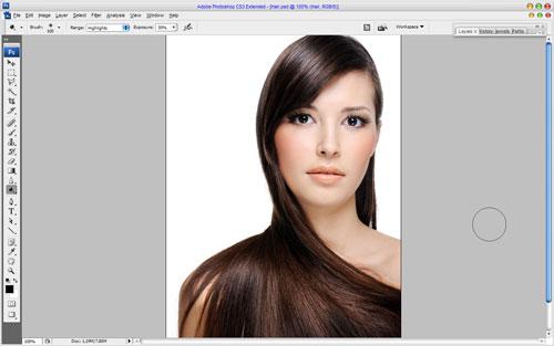 Профессиональное окрашивание волос