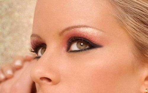 Эффект вечернего макияжа глаз в Photoshop