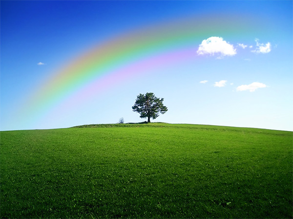 Как добавить реалистичный эффект радуги на фотографию