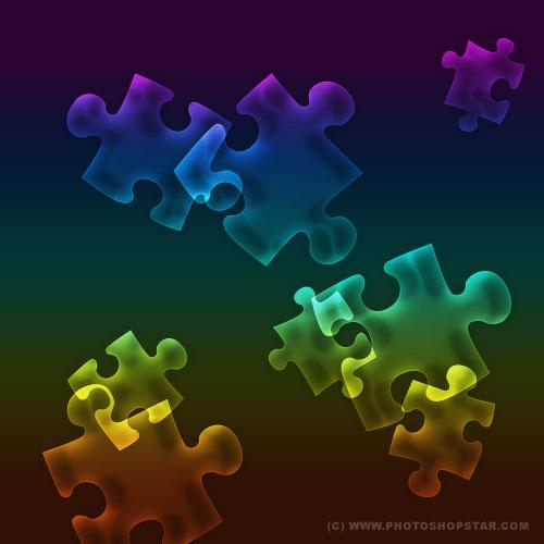Многоцветный полупрозрачный эффект хамелеона