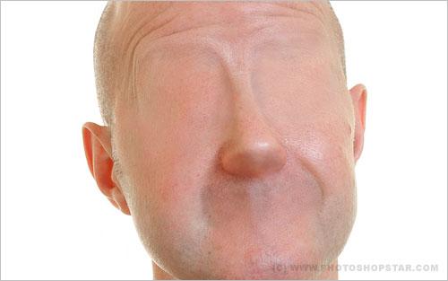 Без лица: визуальный обман Photoshop